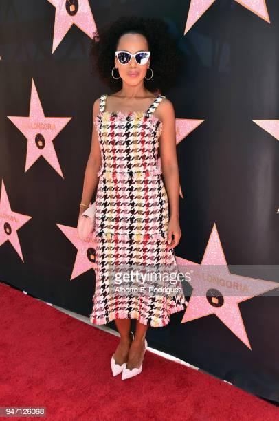 Kerry Washington attends Eva Longoria's Hollywood Star Ceremony PostLuncheon on April 16 2018 in Beverly Hills California
