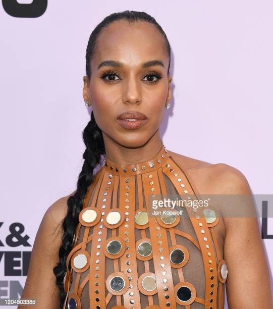 Kerry Washington attends the 13th Annual Essence Black Women In Hollywood Awards Luncheon at the Beverly Wilshire Four Seasons Hotel on February 06...