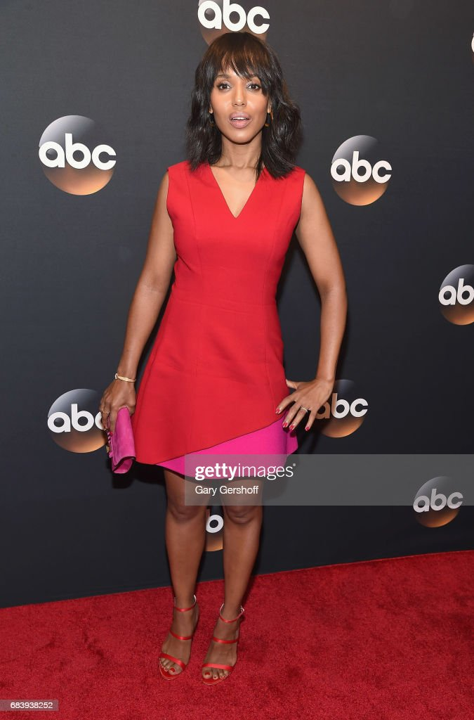 Kerry Washington attends the 2017 ABC Upfront event on May 16, 2017 in New York City.