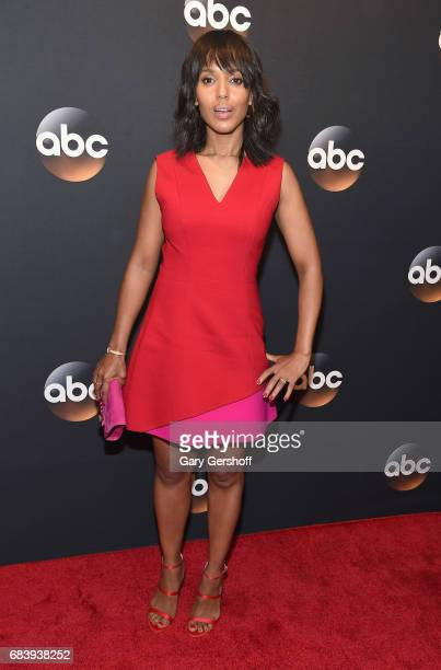 Kerry Washington attends the 2017 ABC Upfront event on May 16 2017 in New York City