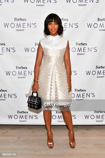 Kerry Washington attends the 2017 Forbes Women's Summit at Spring Studios on June 13 2017 in New York City