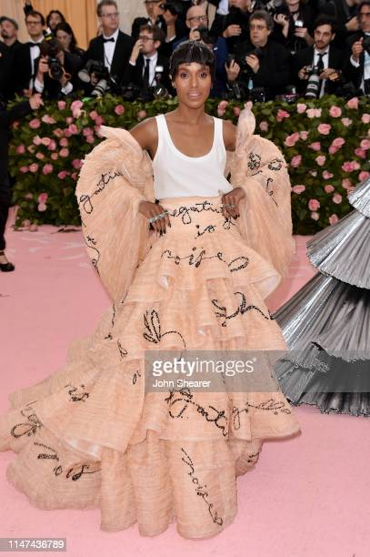 Kerry Washington attends The 2019 Met Gala Celebrating Camp Notes on Fashion at Metropolitan Museum of Art on May 06 2019 in New York City