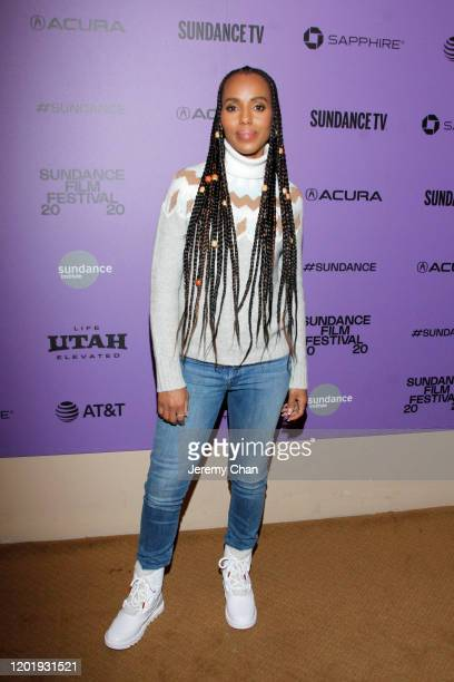 Kerry Washington attends the 2020 Sundance Film Festival Power Of Story Just Art Panel at Egyptian Theatre on January 25 2020 in Park City Utah