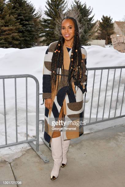 Kerry Washington attends the 2020 Sundance Film Festival The Fight Premiere at The Marc Theatre on January 24 2020 in Park City Utah