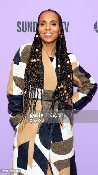 """Kerry Washington attends the 2020 Sundance Film Festival - """"The Fight"""" Premiere at The Marc Theatre on January 24, 2020 in Park City, Utah."""