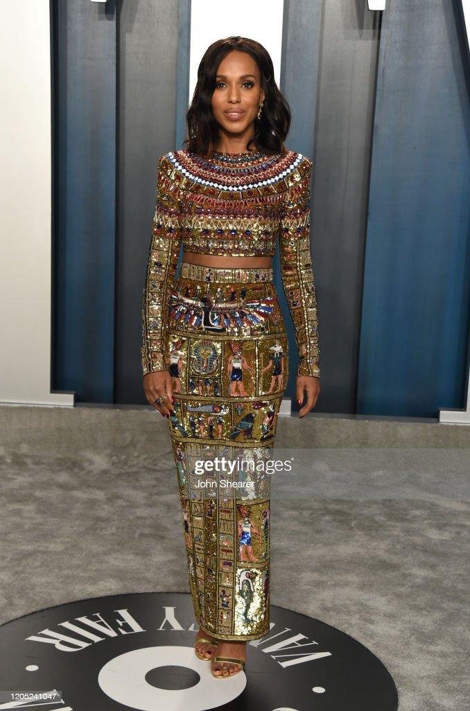 2020 Vanity Fair Oscar Party Hosted By Radhika Jones - Arrivals : Photo d'actualité