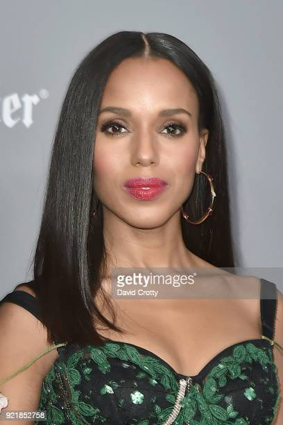 Kerry Washington attends the 20th CDGA Arrivals on February 20 2018 in Beverly Hills California