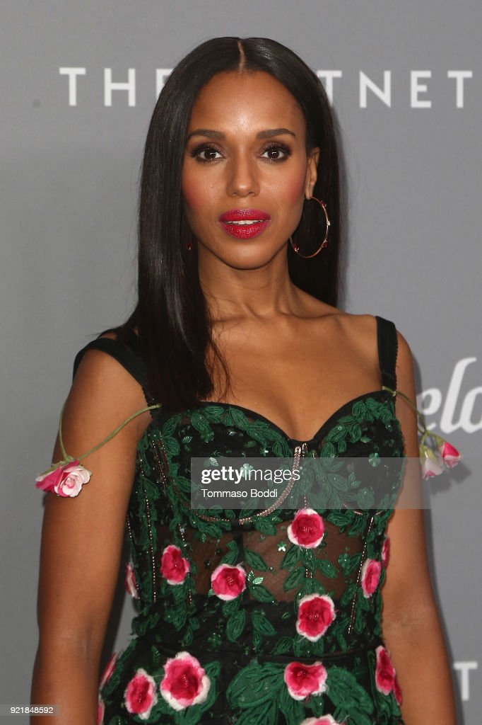 Kerry Washington attends the 20th CDGA (Costume Designers Guild Awards) on February 20, 2018 in Beverly Hills, California.