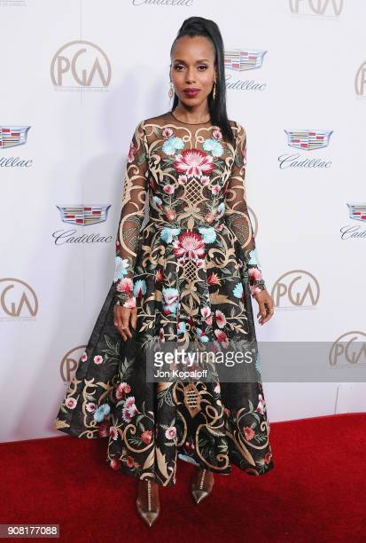Kerry Washington attends the 29th Annual Producers Guild Awards at The Beverly Hilton Hotel on January 20 2018 in Beverly Hills California