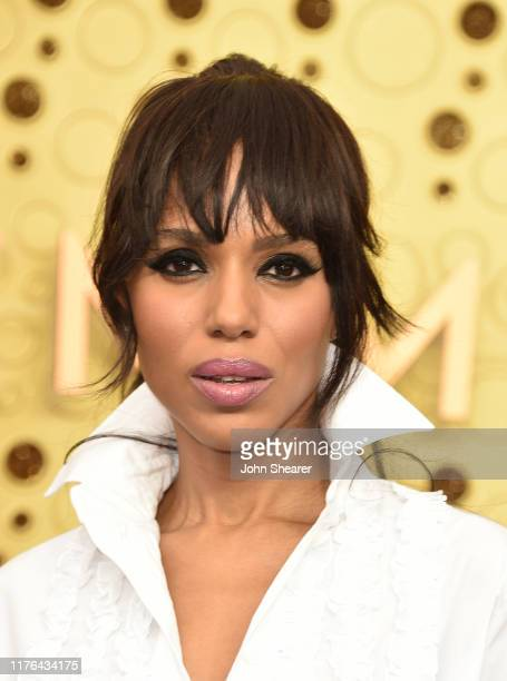 Kerry Washington attends the 71st Emmy Awards at Microsoft Theater on September 22, 2019 in Los Angeles, California.