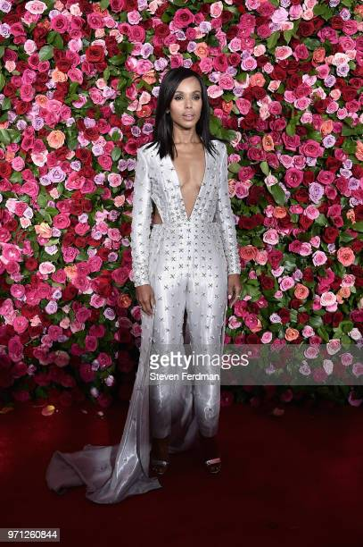 Kerry Washington attends the 72nd Annual Tony Awards on June 10 2018 in New York City