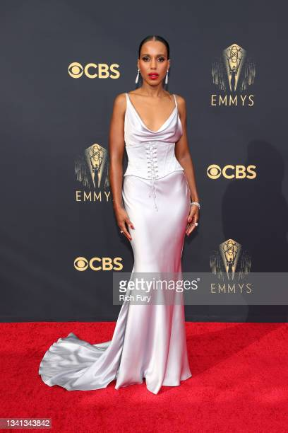 Kerry Washington attends the 73rd Primetime Emmy Awards at L.A. LIVE on September 19, 2021 in Los Angeles, California.