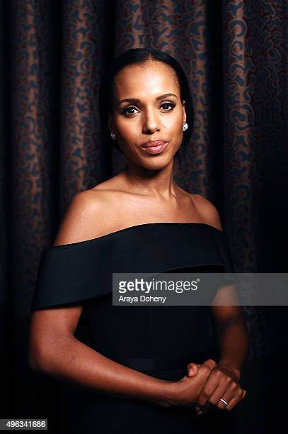 Kerry Washington attends the ACLU SoCal Hosts 2015 Bill of Rights Dinner at the Beverly Wilshire Four Seasons Hotel on November 8 2015 in Beverly...