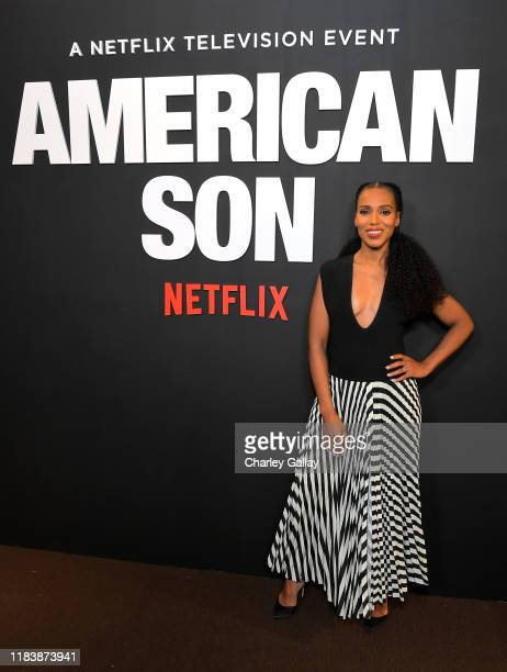 "Kerry Washington attends the ""American Son"" Screening and Reception at NeueHouse Los Angeles on October 27, 2019 in Hollywood, California."