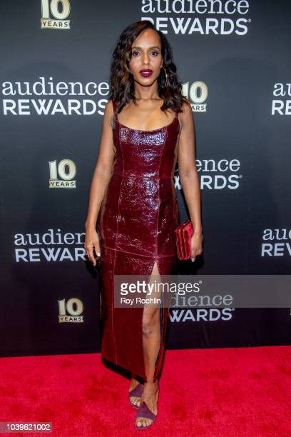 Kerry Washington attends the Broadway Loyalty Program Audience Rewards 10th Anniversary celebration at Sony Hall on September 24 2018 in New York City