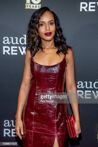 Kerry Washington attends the Broadway Loyalty Program Audience Rewards 10th Anniversary celebration at Sony Hall on September 24, 2018 in New York...