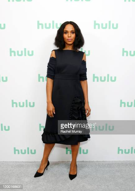 Kerry Washington attends the Hulu Panel at Winter TCA 2020 at The Langham Huntington, Pasadena on January 17, 2020 in Pasadena, California.