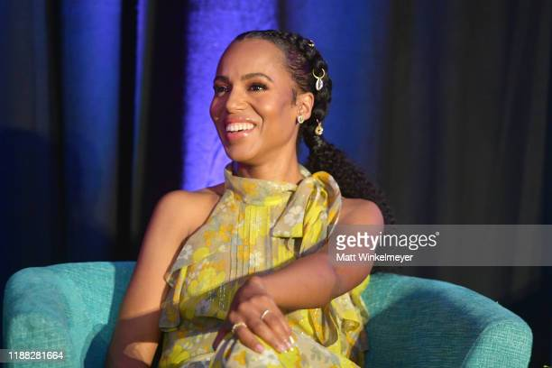 Kerry Washington attends the 'Indie Contenders Roundtable' presented by The Hollywood Reporter at AFI FEST 2019 presented by Audi at TCL at Hollywood...