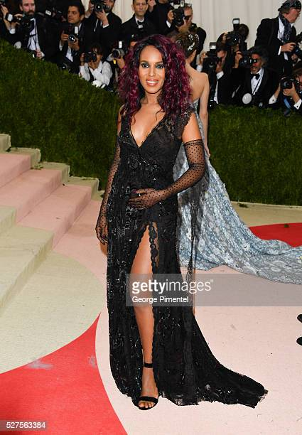 Kerry Washington attends the 'Manus x Machina: Fashion in an Age of Technology' Costume Institute Gala at the Metropolitan Museum of Art on May 2,...