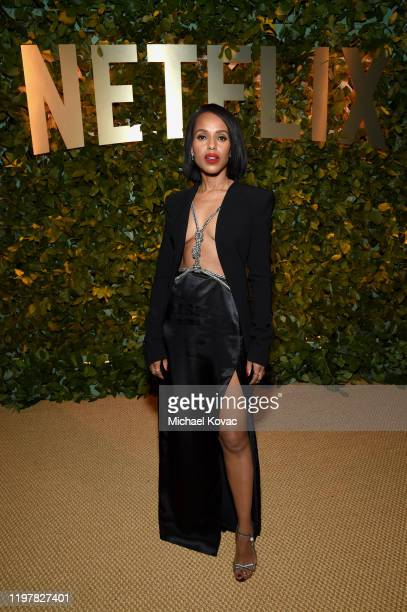 Kerry Washington attends the Netflix 2020 Golden Globes After Party on January 05, 2020 in Los Angeles, California.