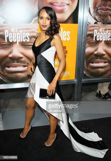 Kerry Washington attends the 'Peeples' Premiere held at ArcLight Hollywood on May 8 2013 in Hollywood California