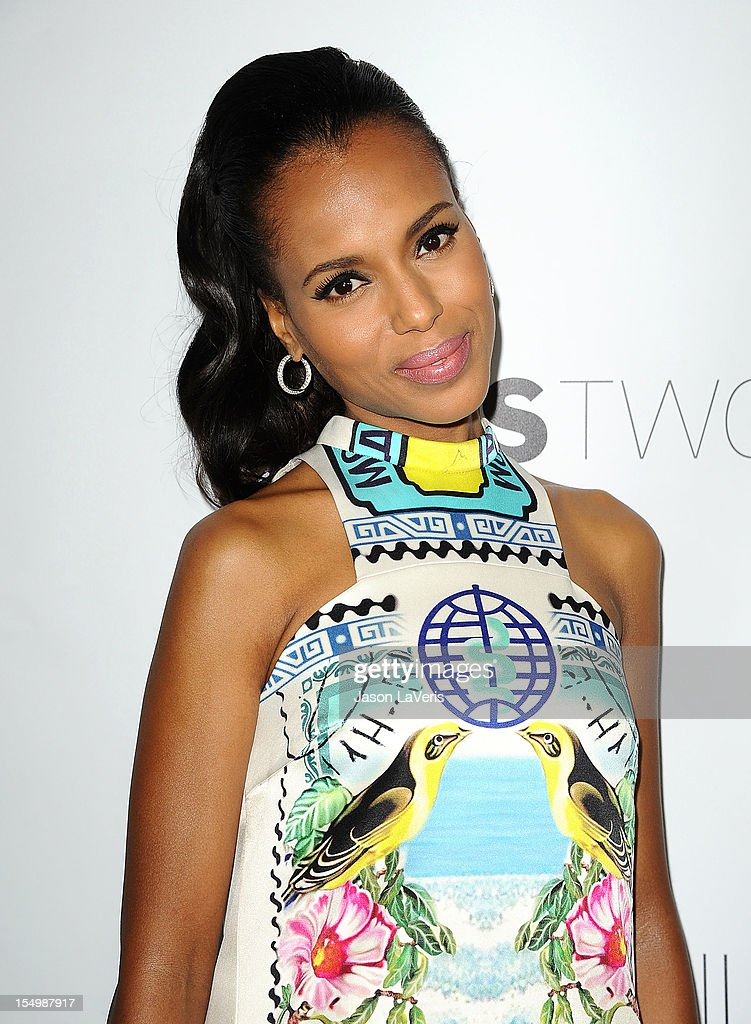 Kerry Washington attends the premiere of 'The Details' at ArcLight Cinemas on October 29, 2012 in Hollywood, California.
