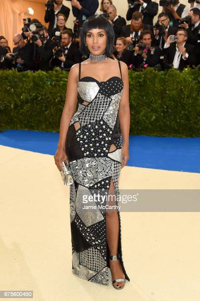 Kerry Washington attends the 'Rei Kawakubo/Comme des Garcons Art Of The InBetween' Costume Institute Gala at Metropolitan Museum of Art on May 1 2017...