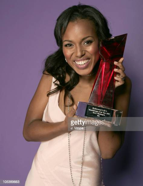 Kerry Washington during Hollywood Life's 4th Annual Breakthrough of the Year Awards Portraits at Henry Fonda Theatre in Hollywood California United...