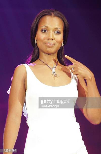Kerry Washington during Macy's Passport 2005 Gala with Movado's Kerry Washington at Herbst & Festival Pavilions - Fort Mason Center in San Francisco,...