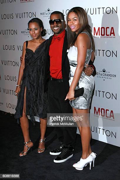 Kerry Washington Kanye West and Alexis Phifer attend Louis Vuitton Gala Celebrating the Takashi Murakami Exhibition at Geffen Contemporary at Moca on...