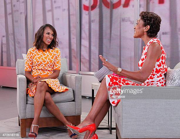AMERICA Kerry Washington of ABC's 'Scandal' is a guest on 'Good Morning America' 5/5/15 airing on the ABC Television Network