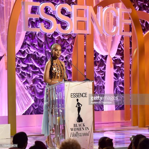 Kerry Washington speaks onstage during the 2020 13th Annual ESSENCE Black Women in Hollywood Luncheon at Beverly Wilshire A Four Seasons Hotel on...