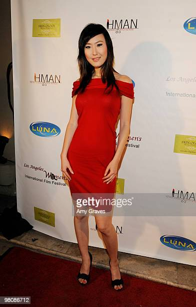 Kerry Young attends the Los Angeles Women's International Film Festival Opening Night Gala at Libertine on March 26 2010 in Los Angeles California