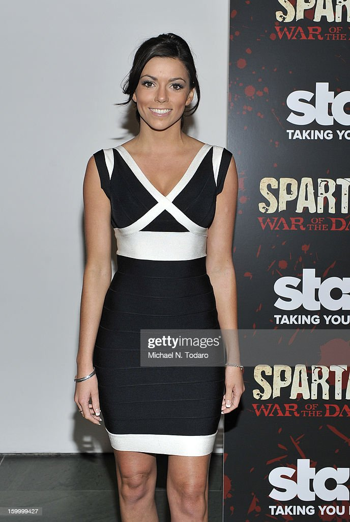 Kerryn Amyes attends the 'Spartacus: War Of The Damned' series finale premiere at The Museum of Modern Art on January 24, 2013 in New York City.