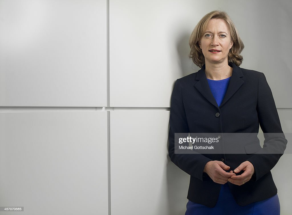 Kerstin Andrae, deputy head of the Green Party faction in the German Bundestag, poses during a portrait session on December 16, 2013 in Berlin, Germany.