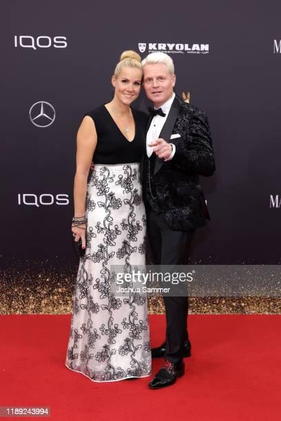 Kerstin Cantz and Guido Cantz attend the 71st Bambi Awards at Festspielhaus BadenBaden on November 21 2019 in BadenBaden Germany