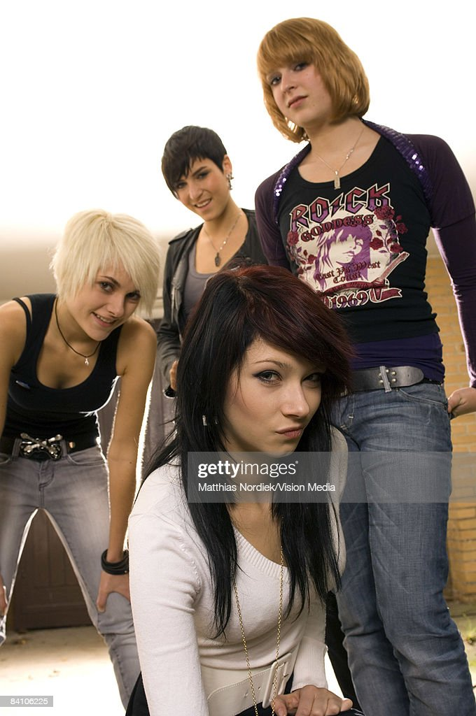 Kerstin, Chanty , Pia and Steffy of German Rock band