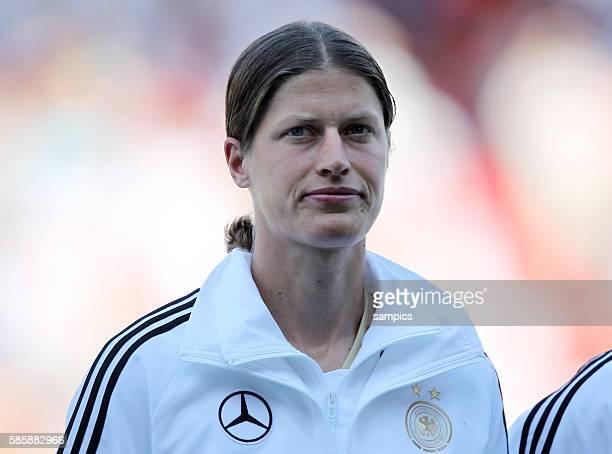 Kerstin Garefrekes Frauenfussball Länderspiel Deutschland Nordkorea Korea DVR 20 am 21 5 2011