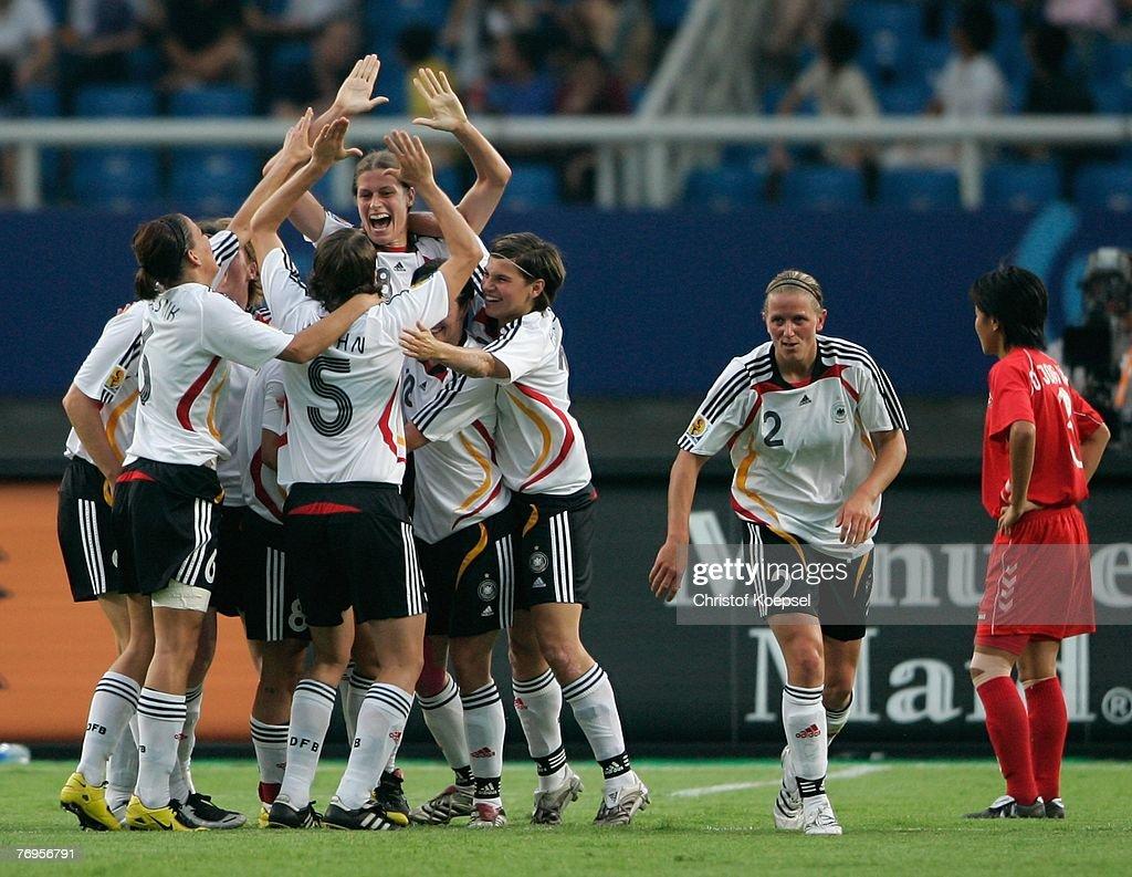 Quarter Final Germany v Korea - Womens World Cup 2007 : News Photo