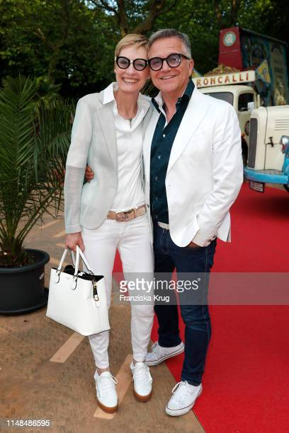 Kerstin Goeritz and Joerg Knoer during Circus Roncalli Gala at Moorweide Park on June 7 2019 in Hamburg Germany