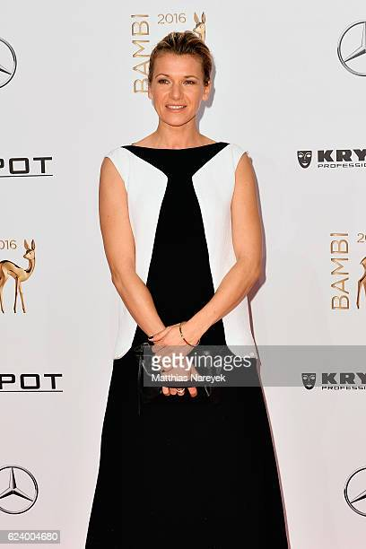 Kerstin Landsmann arrives at the Bambi Awards 2016 at Stage Theater on November 17 2016 in Berlin Germany