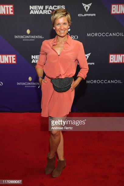 Kerstin Landsmann attends the Bunte New Faces Award Music on August 29 2019 in Dusseldorf Germany