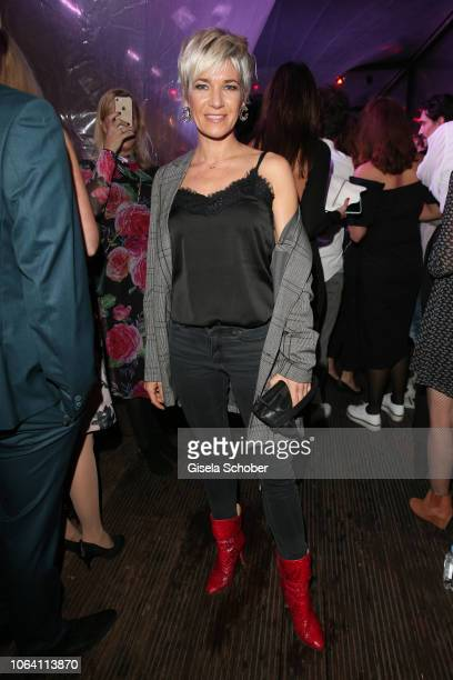 Kerstin Landsmann during the Bunte New Faces Award Style 2018 ceremony at Spindler Klatt on November 15 2018 in Berlin Germany