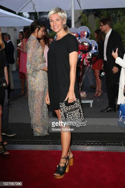 Kerstin Landsmann during the New Faces Award Show 2018 at Sammlung Philara on August 29 2018 in Duesseldorf Germany