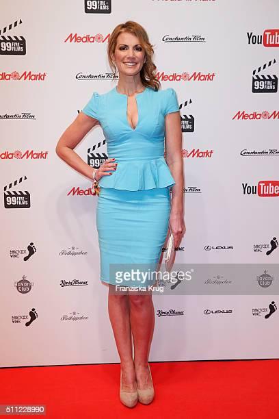 Kerstin Linnartz attends the 99Fire-Film-Award 2016 at Admiralspalast on February 18, 2016 in Berlin, Germany.