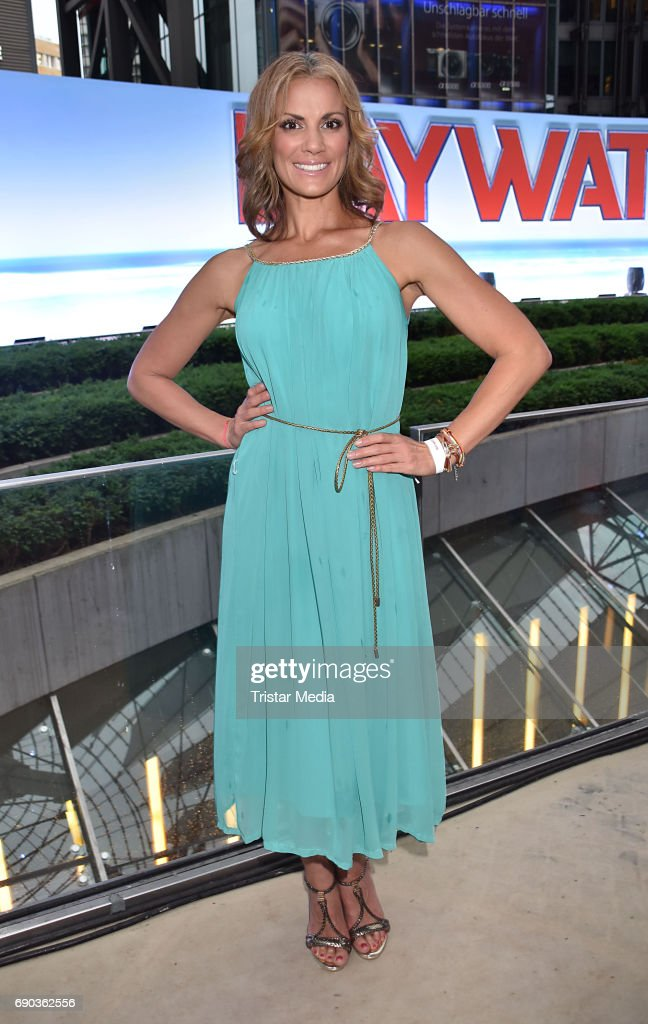 Kerstin Linnartz during the Baywatch European Premiere Party on May 31, 2017 in Berlin, Germany.