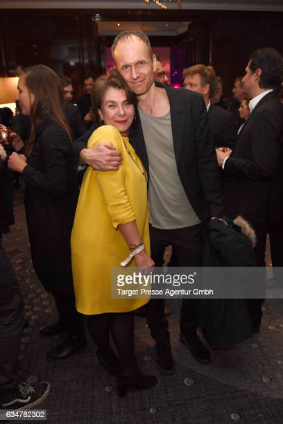 Kerstin Niehus and guest attend the Medienboard Berlin-Brandenburg Reception during the 67th Berlinale International Film Festival Berlin at on...