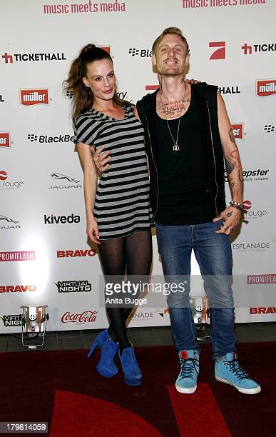 Kerstin Peitner and guest attend the Music Meets Media 2013 Award at Grand Hotel Esplanade on September 5, 2013 in Berlin, Germany.