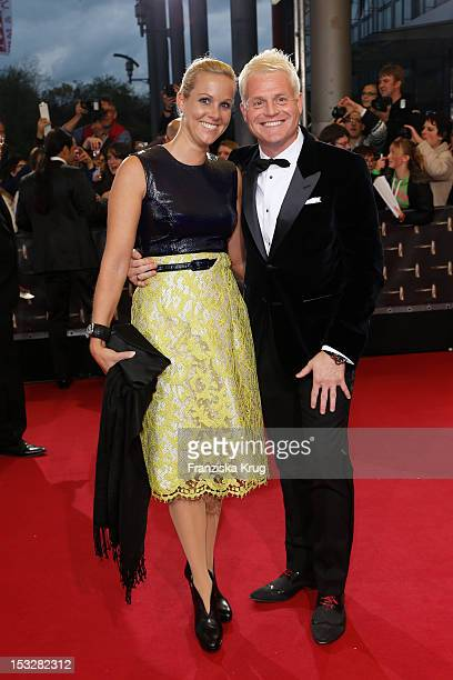 Kerstin Ricker und Guido Cantz attend the German TV Award 2012 at Coloneum on October 2 2012 in Cologne Germany