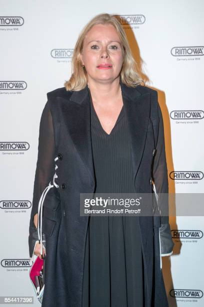 Kerstin Schneider attends dinner hosted by Rimowa Alexandre Arnault to celebrate the 80th Anniversary of Rimowa's iconic aluminium suitcase at...